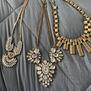 Costume statement necklaces